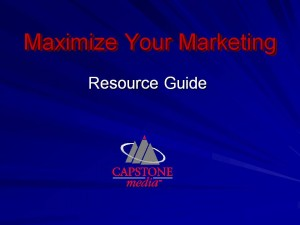 Marketing Tips and Resources
