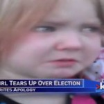 Little girl from Colorado crying over election ads